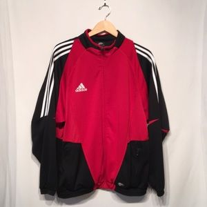 Adidas Warm Up Jacket Size Large Like New